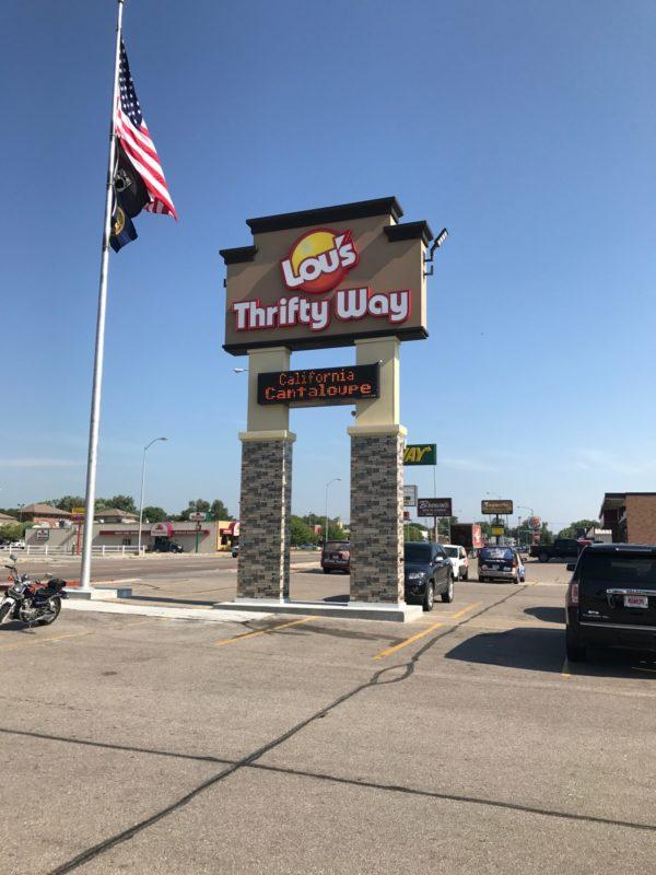 Thrifty Auto Sales >> Love Signs | Custom Signs | Sign Installation | Billboards | Norfolk | NE